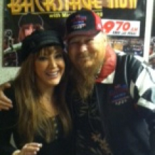 Mickey Jones in-studio