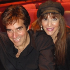 David Copperfield after his show at MGM Showroom