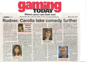 Gaming Today Rita Rudner and Adam Carolla