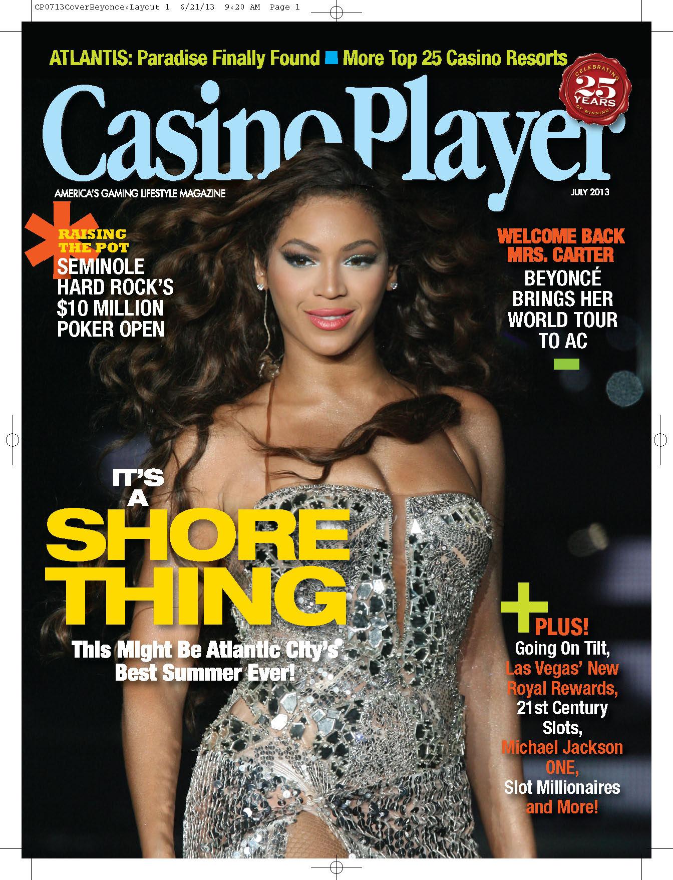 Las Vegas Backstage Talk column in Casino Player Magazine