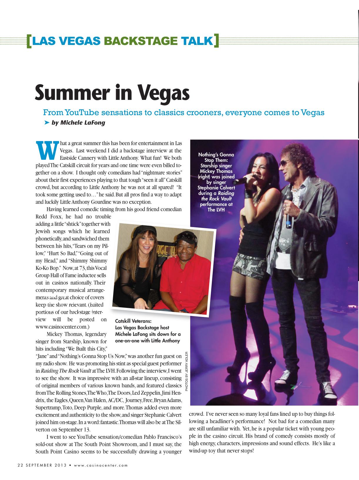 Vegas Casino Talk