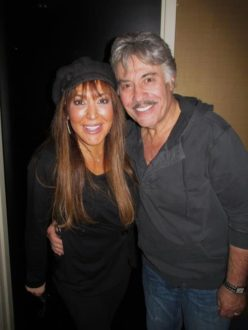 Tony Orlando & Michele LaFong backstage